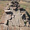 Broken Gravestones - Oak Hill Cemetery - Newnan, GA