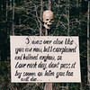 Warning Skull - Okefenokee Swamp National Wildlife Refuge - Waycross, GA  11-28-97