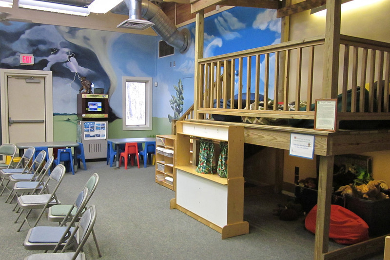 1 of the 2 Classrooms in the Nature Center - Sandy Creek Nature Center - Athens, GA  2/9/13
