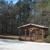 Resting Spot at One of the Trails - Sandy Creek Nature Center - Athens, GA  2/9/13