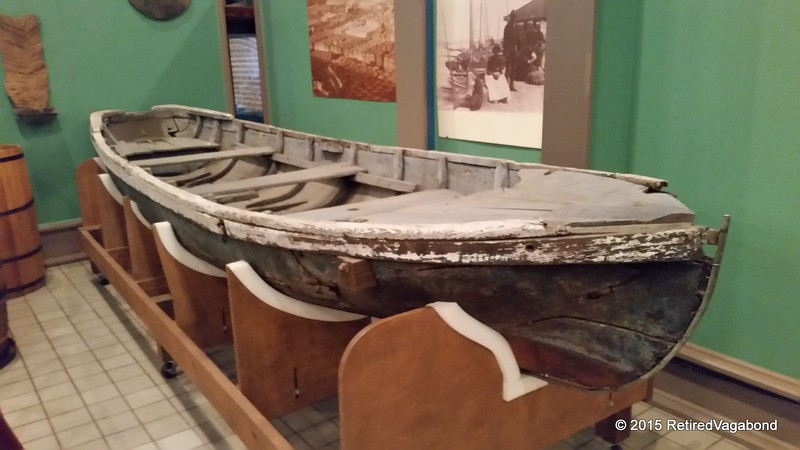 Boat from 1870 - Santee River