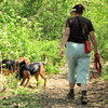 On the Trail with Susanna, Paprika and Ginger - Simpsonwood Retreat - Norcross, GA