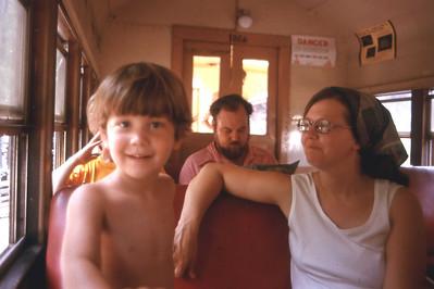 Brett enjoyed the ride