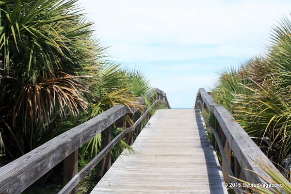 Boardwalk on Tybee Island