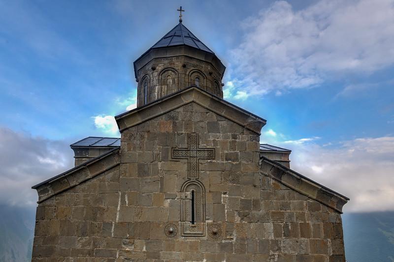 George Trinity Church - Kazbegi, Georgia
