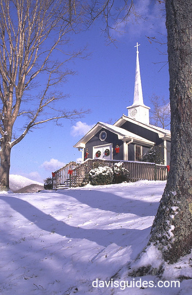 Small chapel, R Ranch in the Mountains, Dahlonega