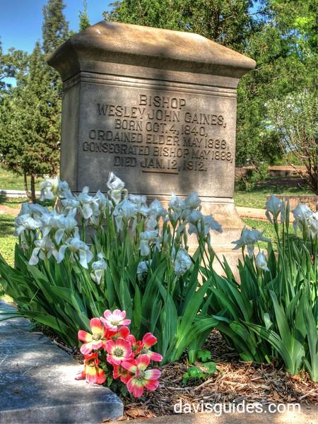Grave of Bishop Wesley John Gaines, Oakland Cemetery, Atlanta