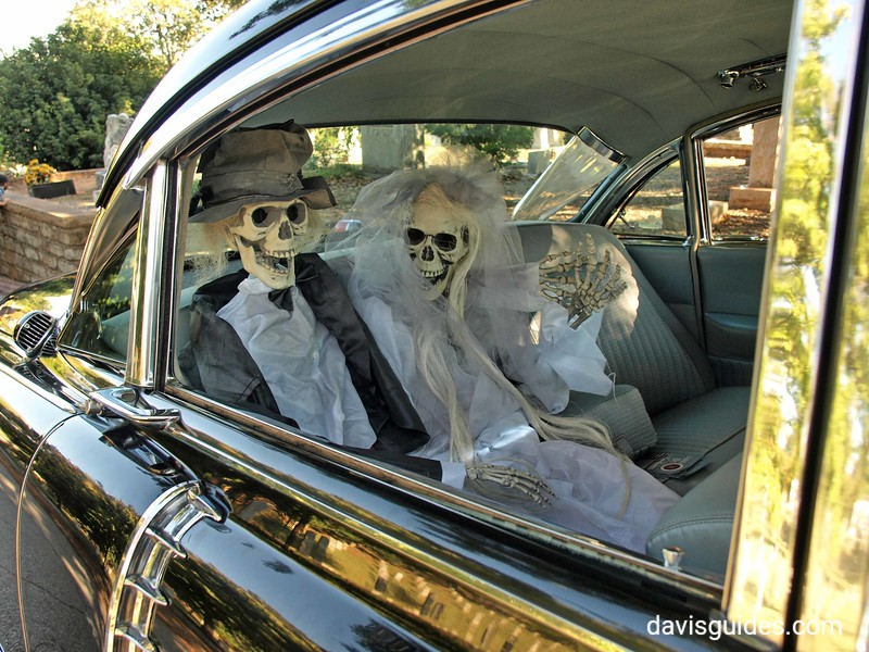 Eternal Love in an old Cadillac, Oakland Cemetery's Sunday in the Park