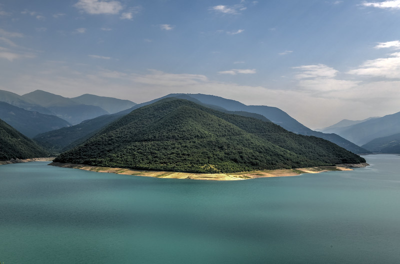 Zhinvali Reservoir Lake - Georgia