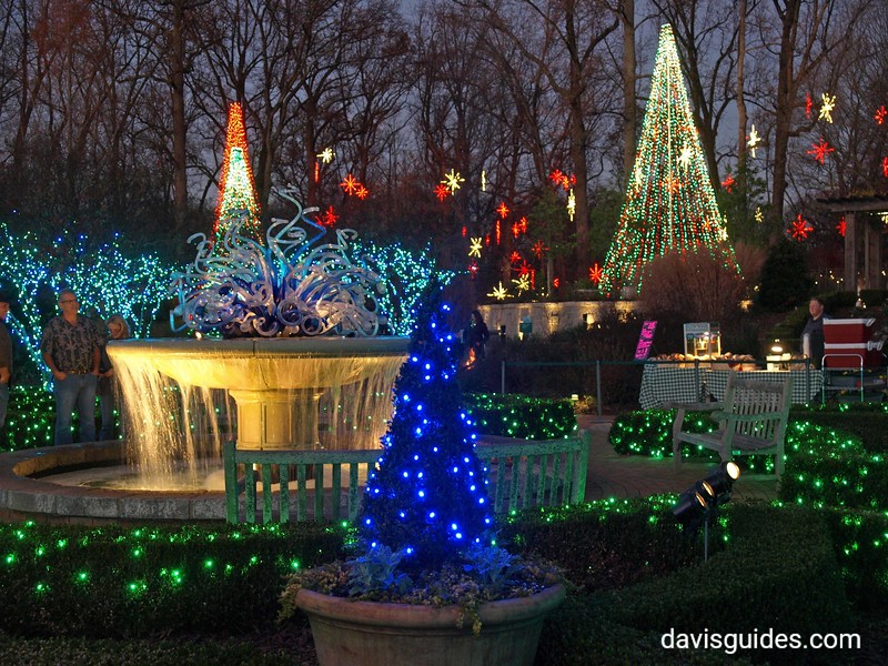 Christmas lights, Atlanta Botanical Garden
