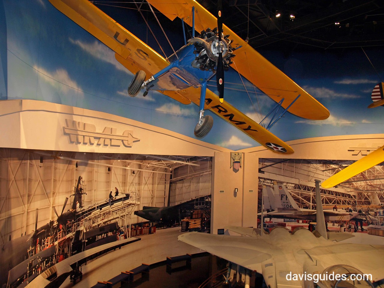 Aviation Museum exhibit, Robins Air Force Base