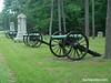 Battle Road monuments, Chickamauga Battlefield