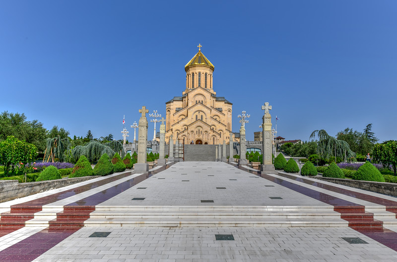 Holy Trinity Cathedral - Tbilisi, Georgia