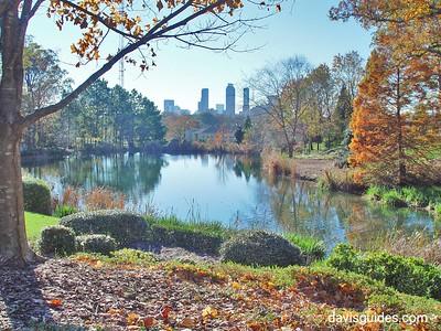 Atlanta skyline from the Carter Center, Atlanta