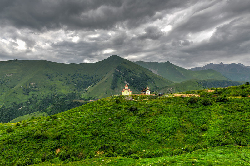 Amaglebis Church - Ganisi, Georgia