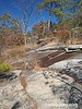 Cherokee Trail along face of Stone Mountain