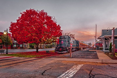 2020 Blue Ridge Fall train