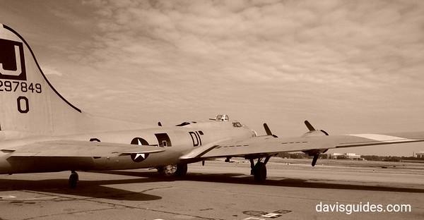 Historic B-17 at Peachtree DeKalb Airport