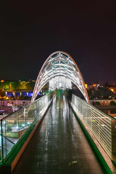 Bridge of Peace - Tbilisi, Georgia