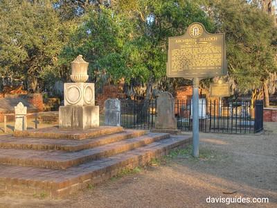 Grave of Archibald Bulloch, Colonial Park Cemetery, Savannah