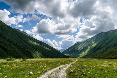 Scenery around Ushguli