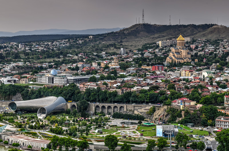 Panoramic City View - Tbilisi, Georgia