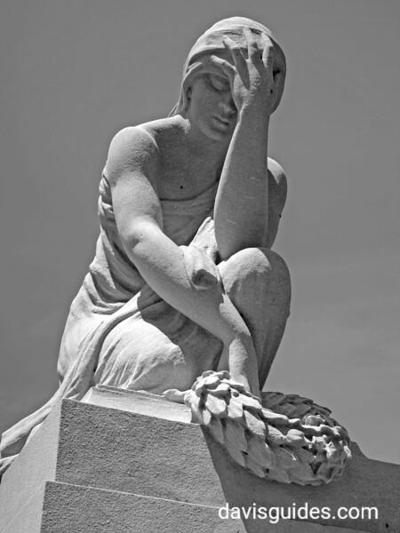 Gray family monument, Oakland Cemetery, Atlanta