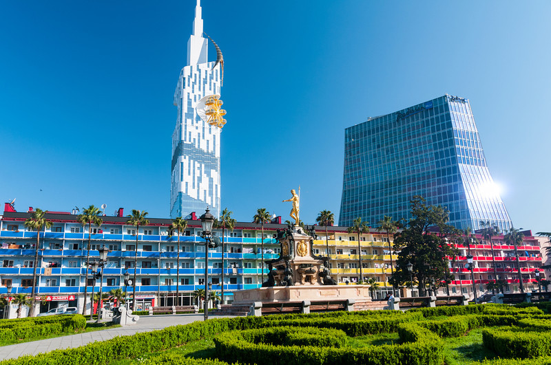Batumi, Georgia. Note the Batumi 'Eye'
