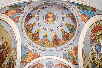 Ceiling detail, church