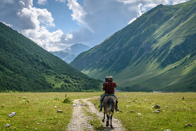 Scenery around Ushguli, Svaneti