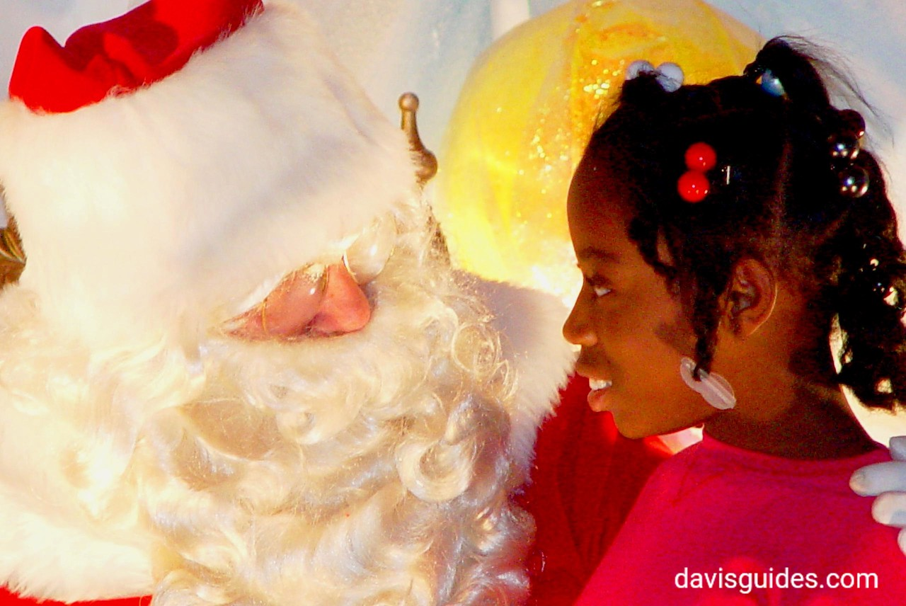 Santa hears a wish, Crawford Long Hospital, 2006
