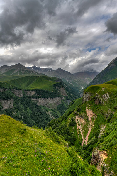 Mountain Panorama - Kazbegi, Georgia