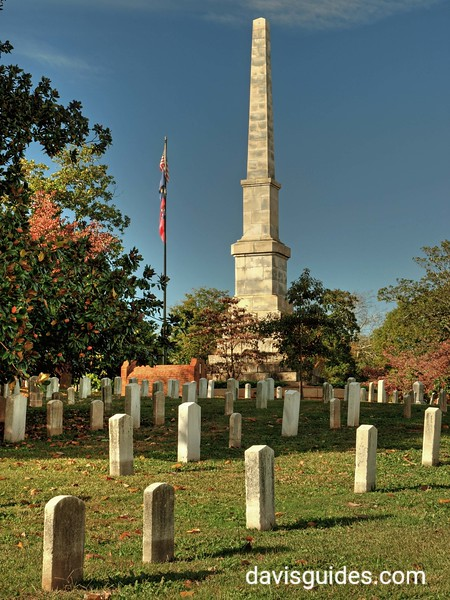 Confederate Monument at Oakland Cemetery, Atlanta