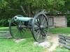 artillery displayed outside Snodgrass House, Chickamauga Battlefield