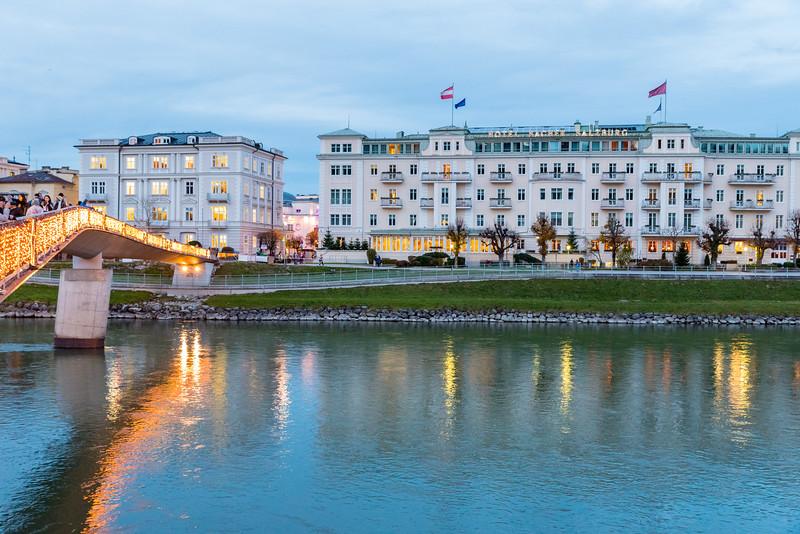 Makartsteg and Hotel Sacher