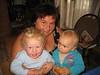 Oma Edith mit Tim und Juliana