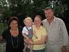 Oma Edith, Tim, Tini und Harald