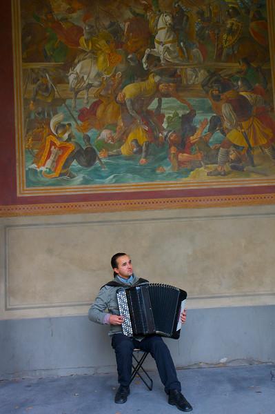Aspiring Musician, Munchen