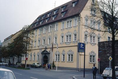 Hotel Rebstock, Wurzburg