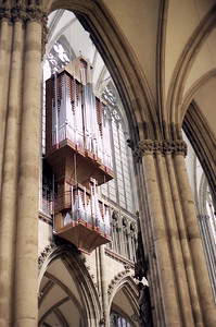 Organ pipes.
