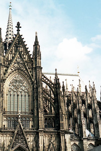 The Cologne Cathedral - 1836.