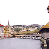 Waterfront & Kapellbrucke --<br /> Lucerne, Switzerland