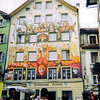 Painted Facade --<br /> Lucerne, Switzerland