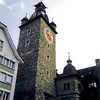 Clock Tower --<br /> Lucerne, Switzerland