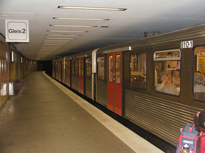 Subway in Hamburg