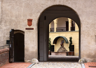 Landshut - Trausnitz Castle - The gateway building leading to the Inner Courtyard.
