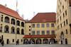 Landshut - Trausnitz Castle inner courtyard.