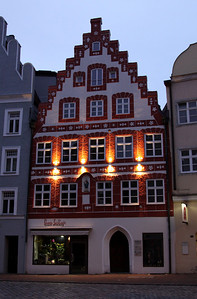 Landshut - Another building on Altstadt (not sure what it is).