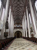 Landshut - Interior of St Martins Church.