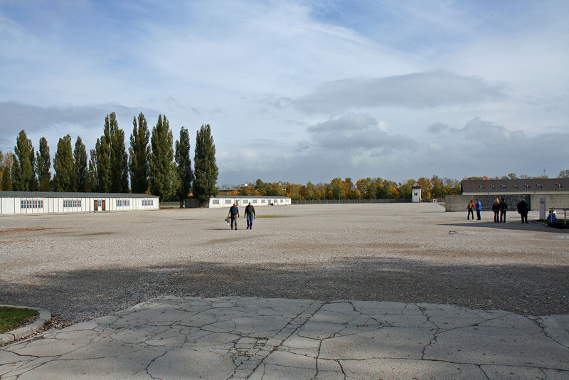 Dachau roll call yard